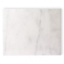 HK Living Marmor Schneidebrett 50 x 40cm weiß