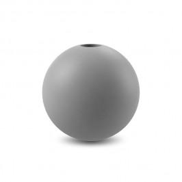 Ball Kerzenhalter 10cm Grey