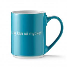 Astrid Lindgren Tasse, det är konstigt mit mig... schwedischer Text