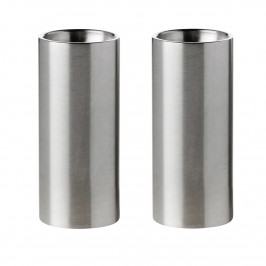AJ cylinda-line Salz und Pfeffer Set Edelstahl