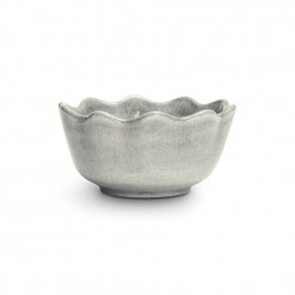 Basic Auster-Schale 13cm Grau