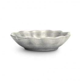 Basic Auster-Schale 18 x 16cm Grau