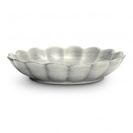 Basic Auster-Schale 24cm Grau