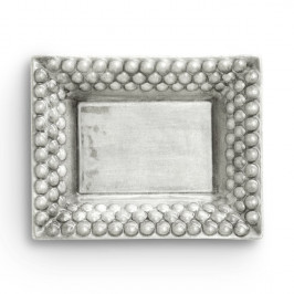 Bubbles Tablett klein 16 x 20cm Grau