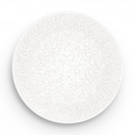 Lace Teller 20cm Weiß