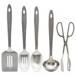 Take Küchenzubehör 5 Teile Silver