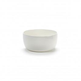 Base Frühstücksschale mit niedrigem Rand weiß 12cm