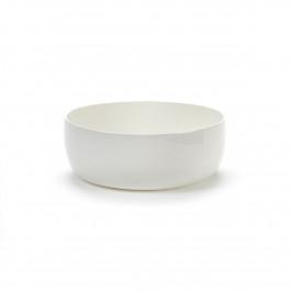 Base Frühstücksschale mit niedrigem Rand weiß 16cm