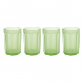 Fish & Fish Wasserglas 40cl 4er Pack Jadeite green