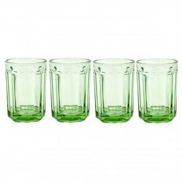 Fish & Fish Wasserglas 40cl 4er Pack Green