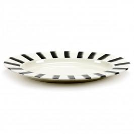 Pasta & Pasta ovaler Servierteller XL Lines