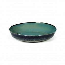 Terres de Rêves kleiner Teller 17,5cm Smokey blue-dark blue