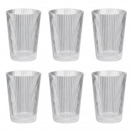 Pilastro Wasserglas 6er Pack 33cl