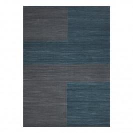 Ganga Wollteppich 170 x 240cm Greyish blue-dark blue