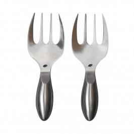 Insalata Salatbesteck 2 Teile Silver
