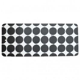 Tallyho Schneidebrett 40 x 17cm schwarz-weiß