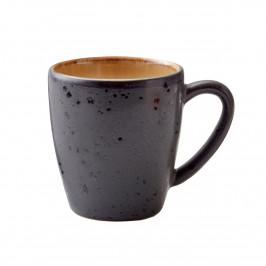 Bitz Tasse 19cl schwarz Schwarz-amber
