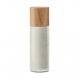 Bitz Salzmühle 17cm Matt cremeweiß