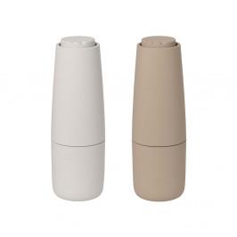 Salpi Salz- und Pfeffermühle Kunststoff Nomad-moonbeam (beige-grau)