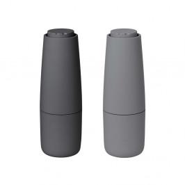 Salpi Salz- und Pfeffermühle Kunststoff Sharkskin-magnet (grau-grau)
