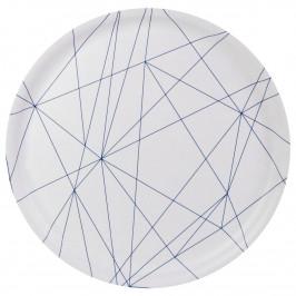 Chop & Serve Tablett rund Angles