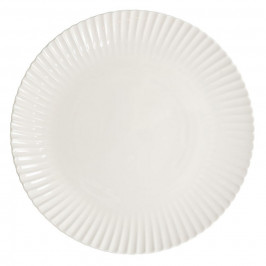 Frances Teller 27cm Weiß