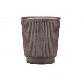 Berica Tasse ohne Henkel Schwarz