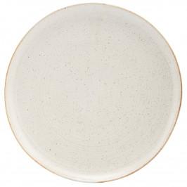 Pion Teller Ø28,5cm grau-weiß