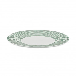 Acquerello Teller Ø 27cm weiß-grün