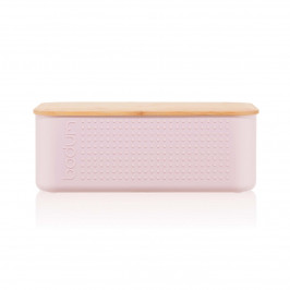 Bistro Brotbox klein 19 x 29cm Strawberry (rosa)