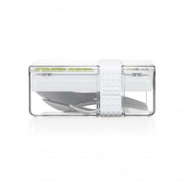 Brotbox mit Besteck Shadow (grau)
