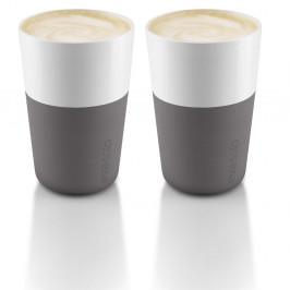 Eva Solo Caffé Latte Becher 2er Pack elefantengrau 2er Pack
