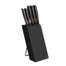 Edge Messerblock mit 5 Messer schwarz