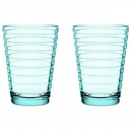 Aino Aalto Wasserglas 33cl im 2er Pack wassergrün