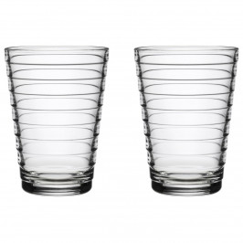 Aino Aalto Wasserglas 33cl im 2er Pack klar