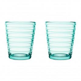 Aino Aalto Wasserglas 22cl im 2er Pack wassergrün