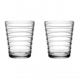 Aino Aalto Wasserglas 22cl im 2er Pack klar