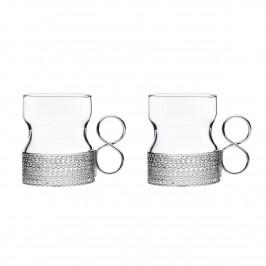 Tsaikka Glas mit Henkel 2er Pack 23cl