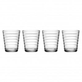 Aino Aalto Wasserglas 4er Pack 22cl Klar