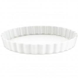 Pillivuyt Quiche-Form rund weiß Ø 33cm