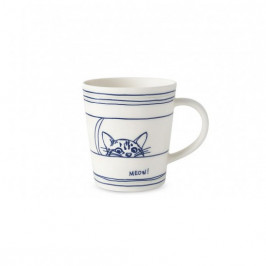 Royal Doulton Ellen DeGeneres Spring mug cat