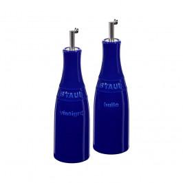 Staub Öl & Essig Set 25cl blau