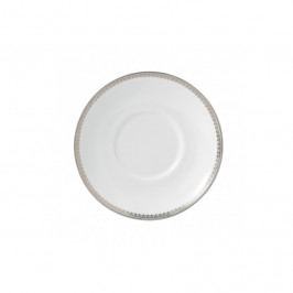 Vera Wang Lace Platinum Teller für Espressotasse weiß
