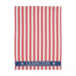 Lexington Striped Geschirrtuch 50 x 70cm rot