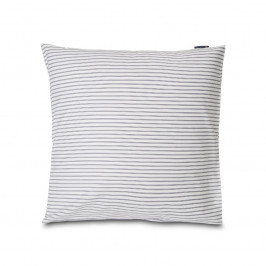 Lexington Striped Kissenbezug tencel 65 x 65cm White-steel blue