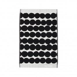 Räsymatto Handtuch schwarz Gästehandtuch 30 x 50cm