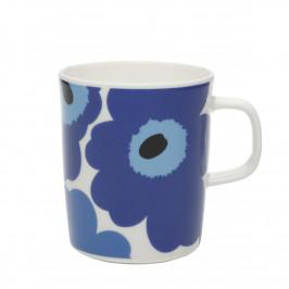 Unikko Tasse 2,5dl blau-weiß