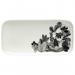 Siirtolapuutarha Teller 24,5 x 12cm schwarz-weiß