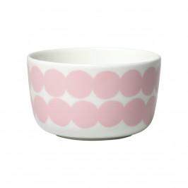 Räsymatto Schale 2,5dl rosa-weiß