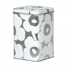 Unikko Verwahrungsbox 17,5cm grau-weiß